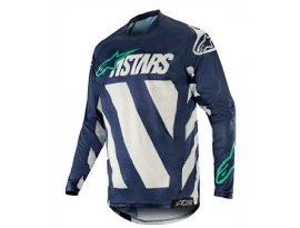 Alpinestars 2019 Racer Braap Cool Gray Dark Navy Teal Jersey