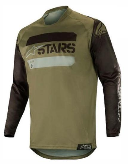 Alpinestars 2019 Racer Tactical Black Military Green Jersey