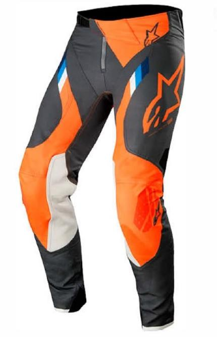 Alpinestars 2019 Supertech Anthracite Orange Fluro Pants