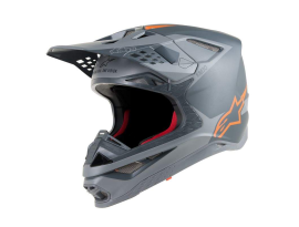 Alpinestars 2019 Supertech SM10 Grey Orange Helmet