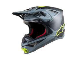 Alpinestars 2019 Supertech SM10 Grey Yellow Helmet