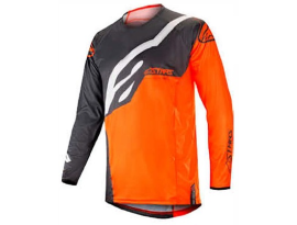 Alpinestars 2019 Techstar Factory Anthracite Orange Fluro Jersey