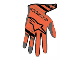 Alpinestars 2019 Youth Radar Orange Black Gloves
