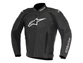 Alpinestars GP Plus R V2 Airflow Black Leather Jacket