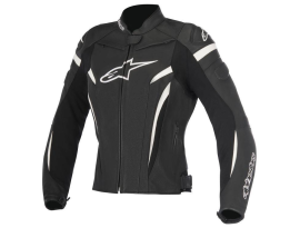 Alpinestars Stella GP Plus R V2 Black White Leather Jacket