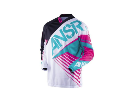 Answer Syncron Jersey 2016- White/Teal