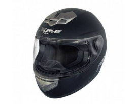 Rjays Apex II Plain Matte Black Helmet