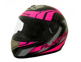 Rjays Apex II Graphic Matte Black Pink Helmet