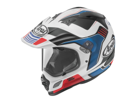 Arai XD-4 Vision Red and White Helmet