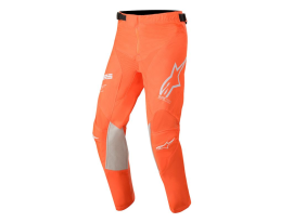 Alpinestars 2020 Youth Racertech Orange White and Blue Pants