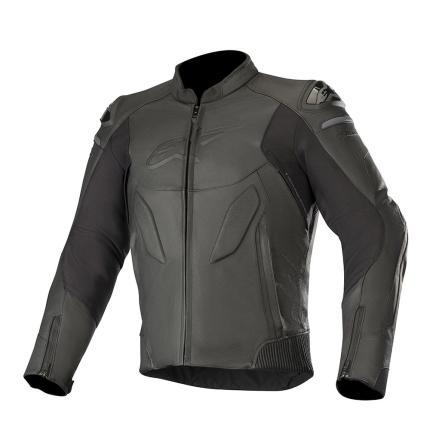 Alpinestars Caliber Black Leather Jacket