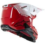 Alpinestars 2020 SM10 Dyno Red White Helmet