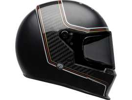 Bell 2020 Eliminator Carbon RSD The Charge Black Helmet