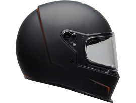 Bell 2020 Eliminator Vanish Matte Black and Red Helmet