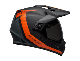Bell MX-9 Adventure MIPS Switchback Matte Black Orange Helmet