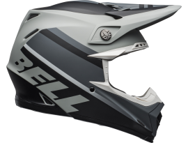 Bell 2020 Moto9 Mips Prophacy Matte Grey Black White Helmet