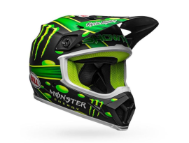 Bell MX-9 MIPS Special Edition McGrath Showtime Matte Black Green Helmet