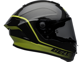 Bell 2020 Racestar DLX Velocity Black and Yellow Helmet