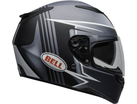 Bell 2020 RS2 Swift Matte Grey Black and White Helmet