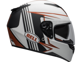 Bell 2020 RS2 Matte White Black and Red Helmet
