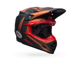 Bell Moto-9 Flex Vice Copper Black Helmet