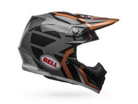 Bell Moto-9 MIPS District Copper Black Helmet