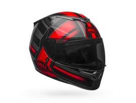 Bell RS-2 Tactical Red Black Titanium Helmet