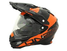 Oneal Sierra Edge Dual Sport  Black Orange Helmet