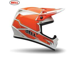 Bell MX9 Blockade Orange Helmet 2015