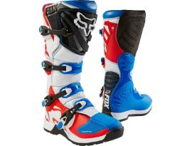 Fox 2018 Fox Comp 5 Blue/Red Boots