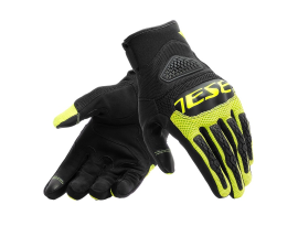 Dainese Bora Black and Yellow Gloves