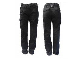 Bull-It SR6 Cargo Regular Black Ladies Pants