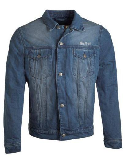 Bull-it Mens Tracker 17 Light Blue Jacket