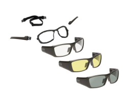 Ugly Fish Cannon Goggles 3 Pack - Matte Black