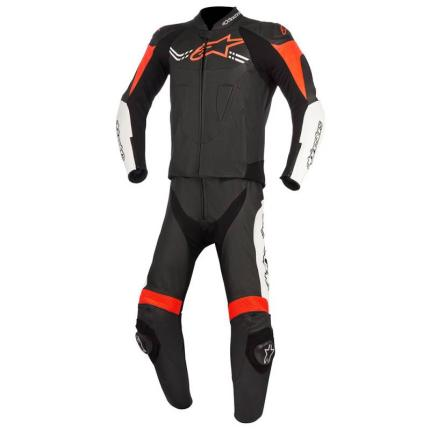 Alpinestars Challenger V2 2pc Suit Black White Red