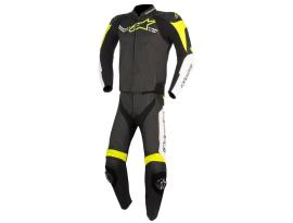 Alpinestars Challenger V2 2pc Suit Black White Yellow