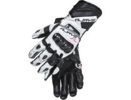 Rjays Cobra II White and Black Long Gloves