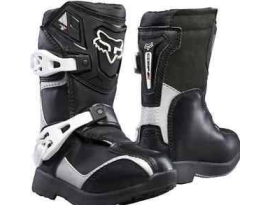 Fox 2019 Comp 5 Black Silver Boots Kids