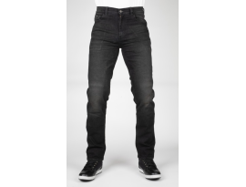 Bull-it Mens Straight Covert Black Jeans
