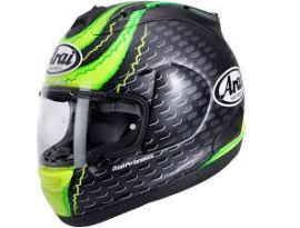 Arai RX-7V Crutchlow GP Green Black