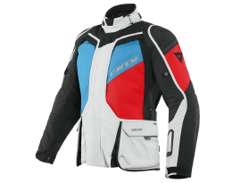 Dainese D-Explorer 2 Grey Blue Red and Black Gore-Tex Jacket
