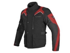 Dainese Tempest D-Dry Black Red Jacket