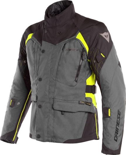 Dainese X-Tourer D-Dry Black Fluro Yellow Jacket