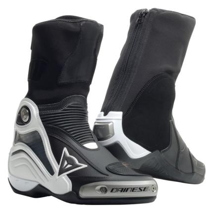 Dainese Axial D1-Pro In Black and White Boots