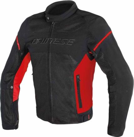 Dainese Air-Frame D1 Tex Black Red Jacket