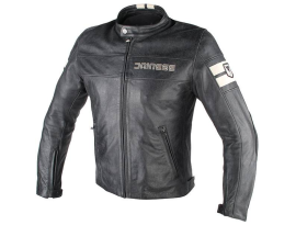 Dainese HF D1 Black Ice Leather Jacket