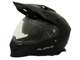 Rjays Dakar II Gloss Black Helmet