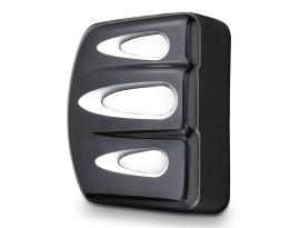 Arlen Ness Deep Cut Coil Covers  - Black