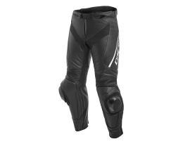 Dainese Delta 3 Perforated Black and White Leather Pants