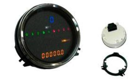 Zodiac Digital Speedo/Tacho Softail 00-03, FXDWG 95-03, FLHR 95-03
